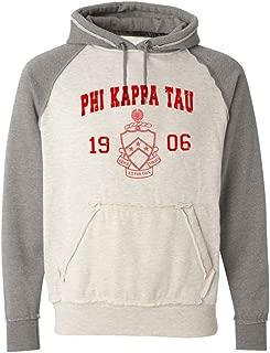 Phi Kappa Tau Vintage Heather Hooded Sweatshirt