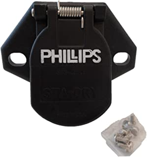 phillips trailer receptacle