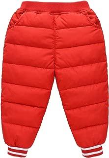 Baby Winter Outdoor Active Pants Warm Elastic Trousers Windproof Snow Pants