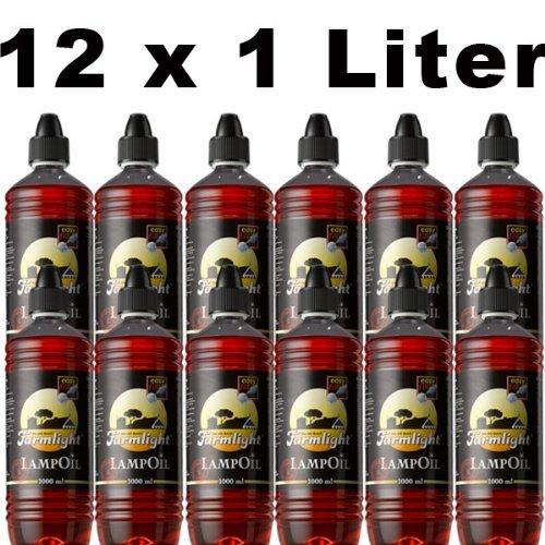 Sel-Chemie Inscrire l'huile de Paraffine farmlight Couleur Rouge 12 l