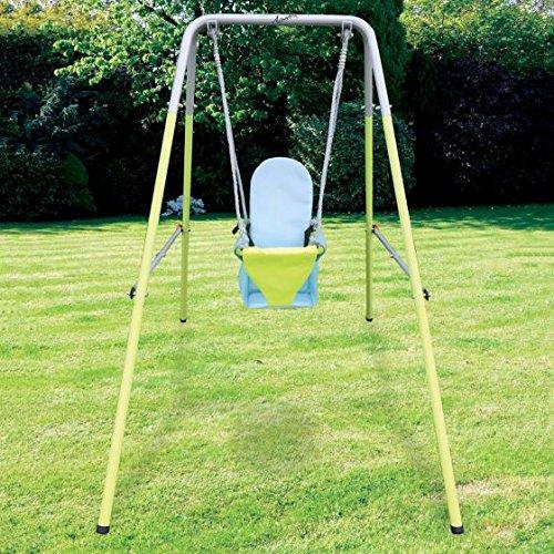 AirWave Outdoor Play - Columpio Plegable para jardín