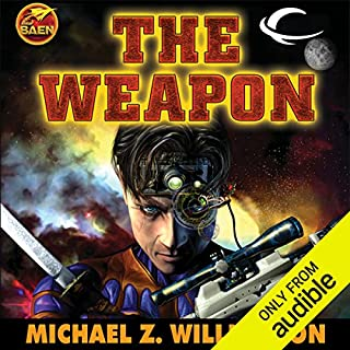 The Weapon     Freehold, Book 2              By:                                                                                                                                 Michael Z. Williamson                               Narrated by:                                                                                                                                 Stephen Bowlby                      Length: 17 hrs and 42 mins     393 ratings     Overall 4.2