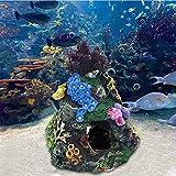 CTGVH Resina Coral Rock Artificial Coral Decoración Decoración de Acuario Decoración de Acuario Decoración de Coral Arrecife Acuario Ornamento para Acuario Acuario