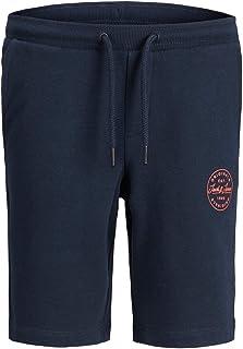 Jack & Jones Junior Jji Shark Jjsweat Shorts Viy Jr Noos Pantalones Cortos Informales para Niños