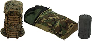 Military Issue Gen II ILBE Main Pack and Weather Resistant Sleep System
