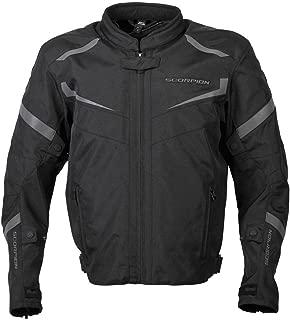 ScorpionExo Men's Phalanx Jacket (Black, Medium)