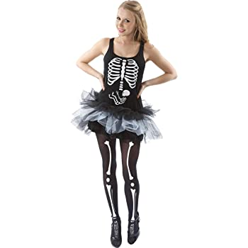 Adult Skeleton Baby Halloween Novelty Dress: Amazon.es: Ropa y ...