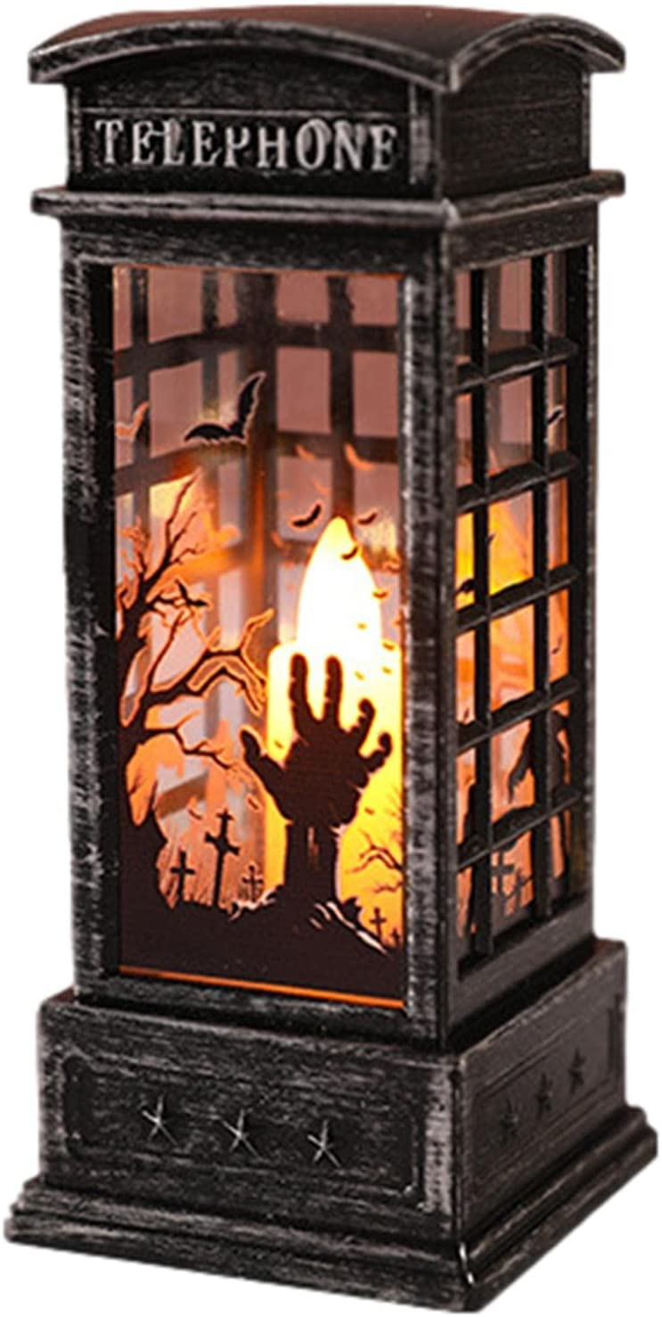 voloki Halloween Theame Electronic Candle Telephon Vintage Light discount Max 52% OFF
