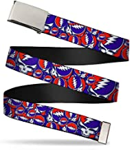 Buckle Down Men's Steal Your Face Stacked Belt