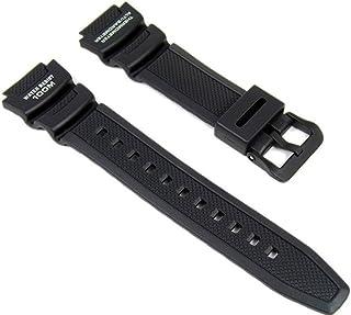 Casio Correa de Reloj Resin Band negro para SGW-400H SGW-