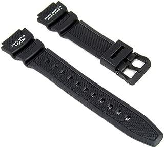 Correa de Reloj Resin Band negro para SGW-400H SGW-300H