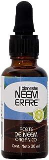 Aceite de NEEM Orgánico 100% puro sin diluir - Azadiractina - Natural Vegano Biodegradable- 30 ml 1.01 fl. oz- Bienestar N...