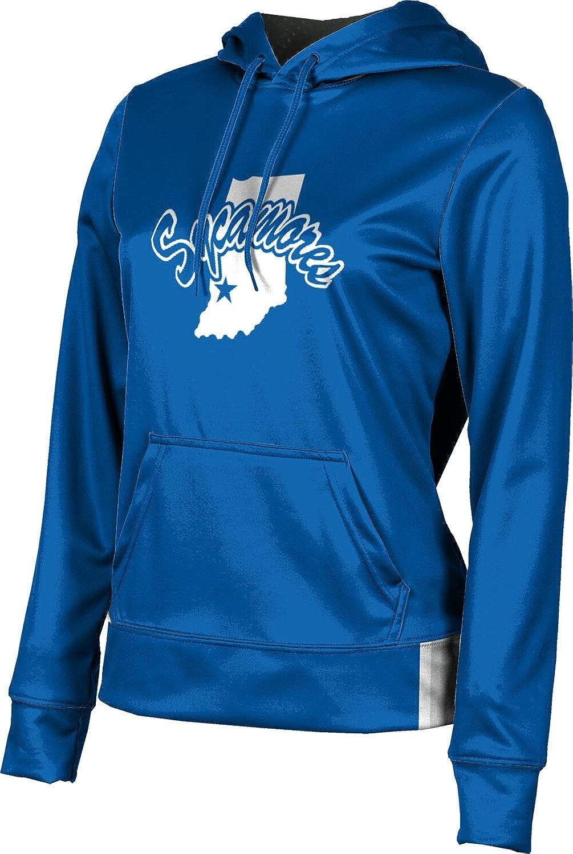 ProSphere Indiana State University Girls' Pullover Hoodie, School Spirit Sweatshirt (Solid)