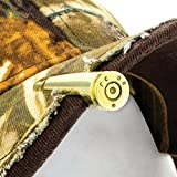 Lucky Shot 308 Caliber HAT Clip  Copper Bullet Round   Brass   Made in USA from