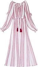 SINCETHEN Women's Tassel Ethnic Long Maxi Dress [Wearing Blackpink]