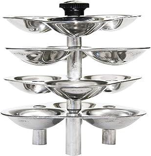HAWKINS - G05 Mini Idli Stand for Pressure Cooker-Silver, 3-Litre (Maked 12 Small Idlis)
