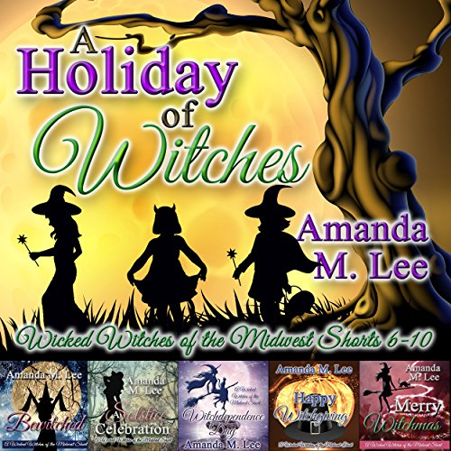 A Holiday of Witches audiobook cover art
