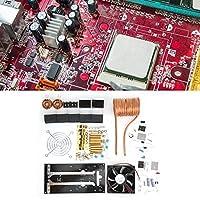 誘導加熱ボードモジュール、冷却ファン付き1000W 12-36V 20Aコイル誘導加熱モジュールは、DIYプレーヤーに使用できます。また、金を溶かすためにグラファイトるつぼで使用できます。