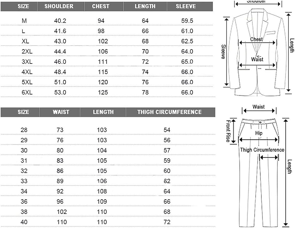 CACLSL Men's Suit Two-Piece Suit Black Navy Suit Men's Slim Groom Wedding Suit Korean Jacket Pants Trousers