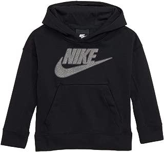 Nike Boys Black & Gray Hoodie Sweatshirt Jacket Grey