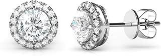 Best silver round earrings online Reviews