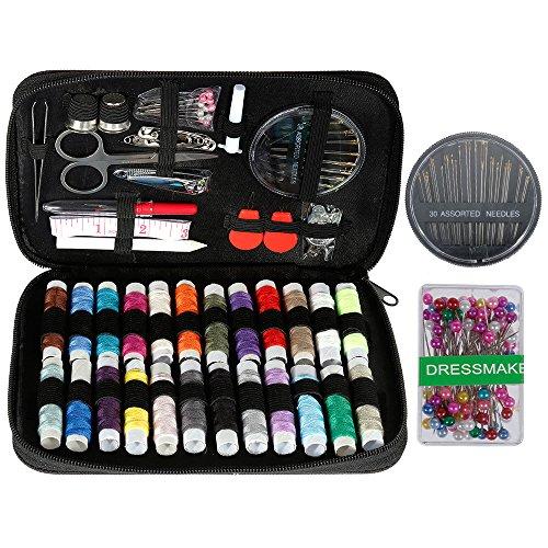 Anpro kit de couture Complet avec Boîte,couture accessoiresavec étui de transport, Kit de couture pratique pour la maison - Applicable au Travail et à l'Urgence