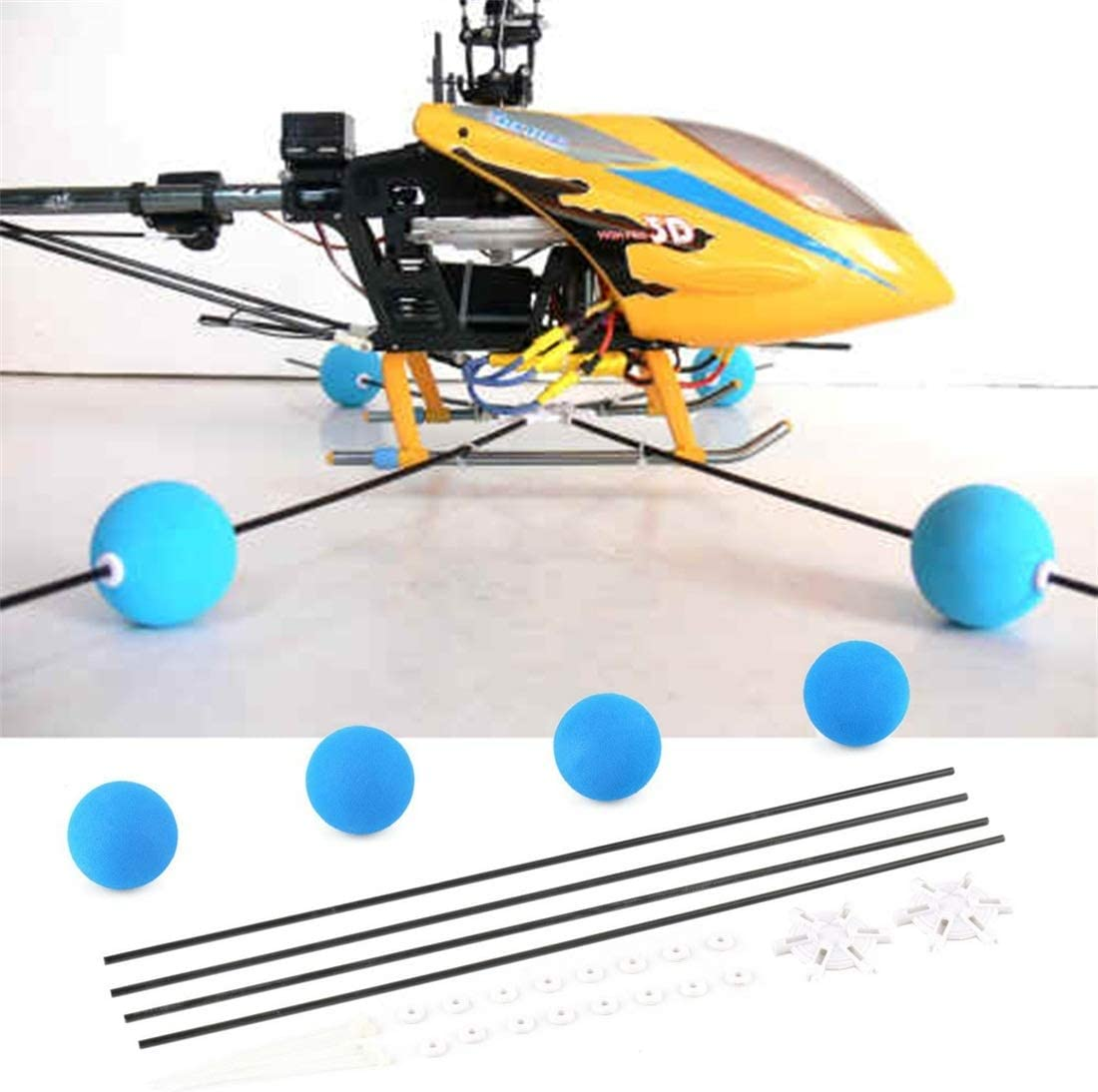 2021new shipping Max 47% OFF free Wangli Toy Hobbies 400 450 RC Control Blue Remote Helicopter Tra