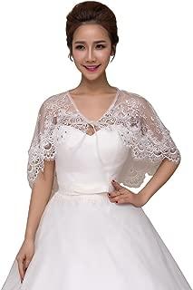 Shawls Wrap Lace Applique Scarf Capes for Wedding Dresses