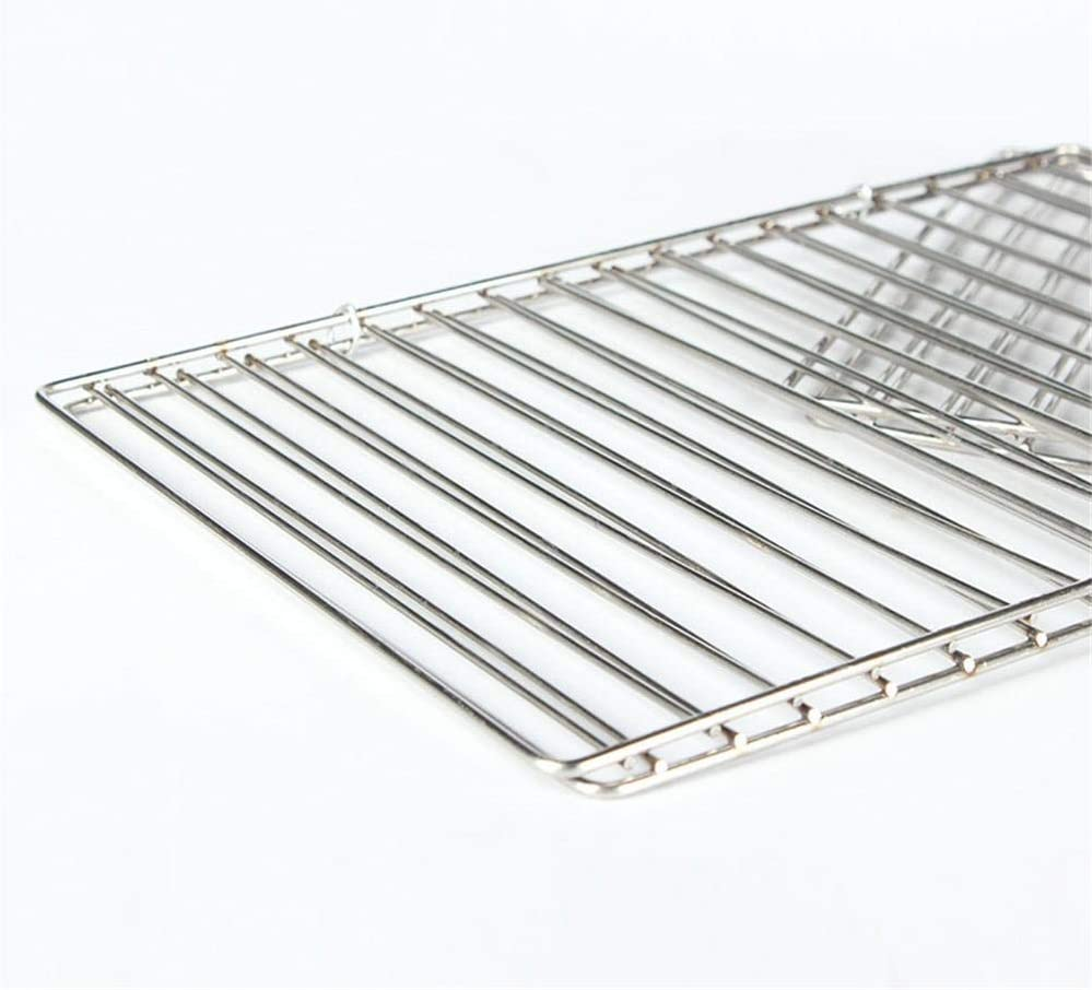 XinYiC Filet de barbecue en acier inoxydable 23,5 x 38,5 cm. 23,5 X 34,5 Cm.