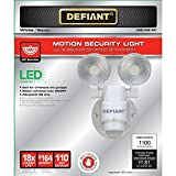 Photo #8: Defiant Motion Security Light Weatherproof Motion Sensor Outdoor Wall Light