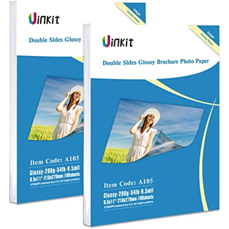 1000 Sheets A4 300Gsm Heavy High Glossy Photo Paper Inkjet Paper Printer Hartwii