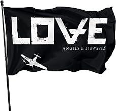 YANGZTING Angels Airwaves AA Home Garden Flag Farmhouse Summer Yard Outdoor Decor Outdoor Flags 3x5 Ft
