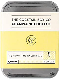 The Champagne Cocktail Kit by The Cocktail Box Co. - Makes 6 Premium Hand Crafted Cocktails. Great gift for any cocktail l...