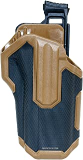 BLACKHAWK! BH Omnivore Nonlight Rh Black/Tan Gun Stock Accessories