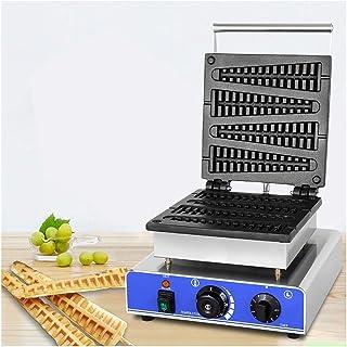 Appareils à sandwich et presses à panini Droit commercial machine en acier inoxydable à revêtement antiadhésif Arbre gaufr...