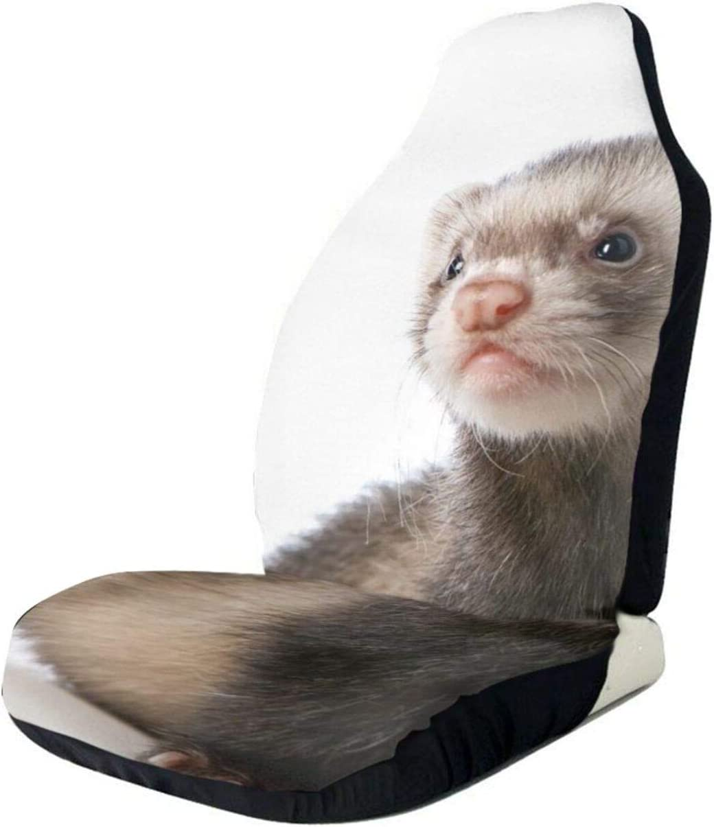 Cute OFFicial site Ferret Front Car Seat Full Protector Covers Vehicle Ca Challenge the lowest price of Japan