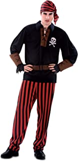 Men's Pirates Costumes Adult Captain Hook Costume Halloween Man Buccaneer Male High Seas Pirate Costumes