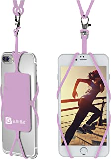 Gear Beast Universal Cell Phone Lanyard Compatible with iPhone, Galaxy & Most Smartphones Includes Phone Case Holder with ...