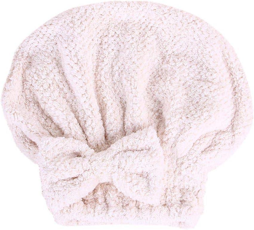 Magic Instant Hair Drying Towel Microfiber Absorbent Dry Hair Adult Shower Cap