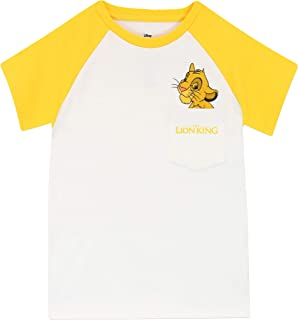 Disney Camiseta de Manga Corta para niños Lion King