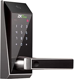 ZKTeco AL10DB Bluetooth ingeschakeld Keyless Toetsenbord Deurslot Digitale Elektronische Smart Sloten+5 stks Mifare Kaarten