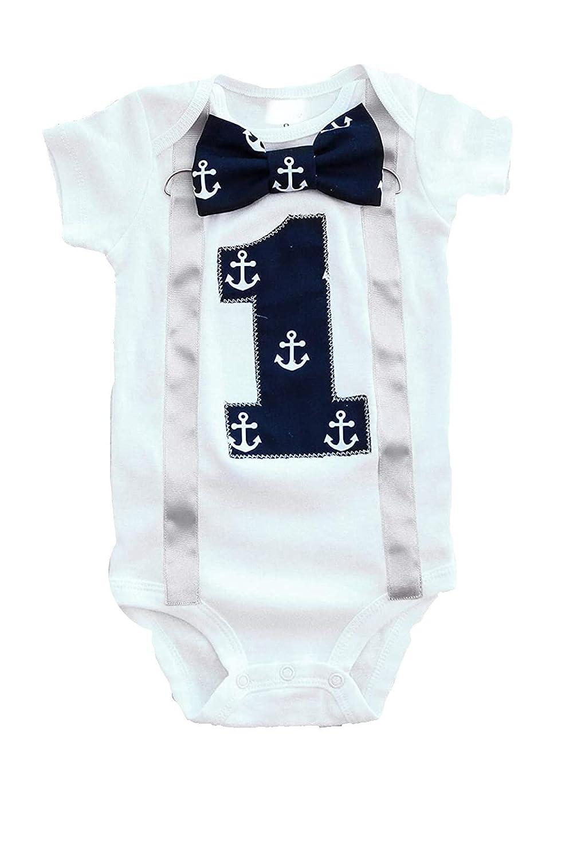 Baby Boy first Max 51% OFF birthday Cheap Navy boy Anchor baby cake First