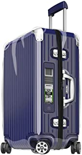 Cover FOR RIMOWA Limbo Luggage Transparent Skin Suitcase with Black Zipper