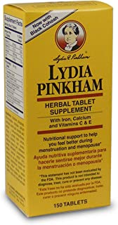 Lydia Pinkham Menopause Tablets, 150 Count