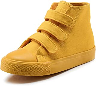 MK MATT KEELY High Top Canvas Shoes Kids Toddler Girls Boys Sneakers Lace up School Board Shoes