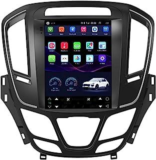 HP CAMP GPS Navigation für Regal Opel Vauxhall Insignia 2014 2016, Android 9.1 8 Core Car Radio 32G 64G mit CarPlay/DSP/Rückfahrkamera, unterstützt GPS/RDS/OBD/DVR/DAB