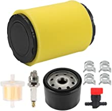Harbot 796031 Air Filter with Tune Up Kit for Briggs & Stratton 591334 594201 5428 5421 797704 310000 407777 445577 445677 31A507 31A707 31C707 31G777 31P677 31P707 31P777 Engine