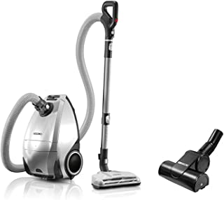 ORECK Venture Pro PetPower Multi Floor Bagged Canister Vacuum Cleaner | Carpet, Tile and Hardwood Flooring | Dirt, Debris, Pet Hair | Lightweight, High-Suction Clean | 7 Year Warranty and 7 Tune-Ups