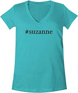 The Town Butler #Suzanne - A Soft & Comfortable Women's V-Neck T-Shirt