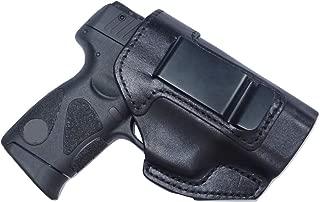 Tactical Scorpion Gear Full Grain Leather IWB Conceal Carry Gun Holster for Taurus Millennium G2 PT111 PT132 PT138 PT140 PT145 PT745 G2c